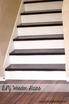how to install hardwood stairs - easier than it looks!