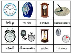 Crapouillotage: Les instruments de mesure du temps