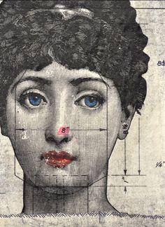Canvas Prints || Vintage || Lady