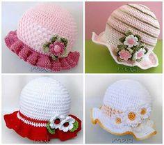 49 mejores imágenes de Gorros Crochet 32c2ccf5e8a