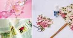 Você quer aprender a fazer decoupage em tecido? Pois então aqui temos todas as informações detalhadas para você começar agora mesmo!