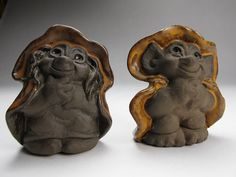 Ceramic Thomas Dam Trolls