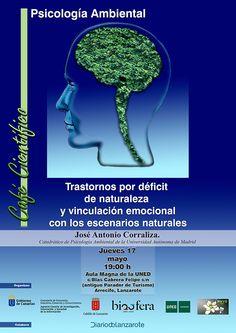 La Psicología Ambiental Trastornos Por Déficit De Naturaleza Y Vinculación Emocional Con Los Escenarios Naturales Psicologia Ambiental Psicologia Ambientales