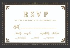 Free Rsvp Card Template Watercolor Flowers  Printable Response Card Templateclick To Find .