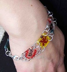 American Masters Shrink Art Bracelet