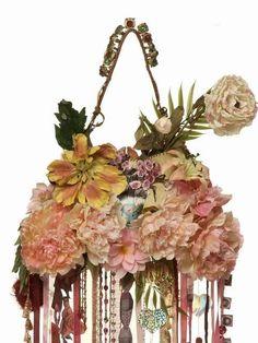 flowered bag by Maliparmi