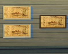 """Painting """"Japanese writing"""" http://mara45123sims.blogspot.com.es/2015/02/blog-post_33.html#comment-form"""