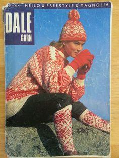 Dale Garn Book 44 Norwegian knitting pattern booklet
