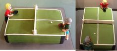 Here's a cake we made for a local table tennis club in Brighton!! http://www.buddyshomebakery.co.uk/