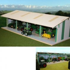 How to make a toy tractor shed storage prices uk Wooden Toy Barn, Wooden Sheds, Wooden Toys, Custom Woodworking, Woodworking Projects Plans, Storage Prices, Garden Sheds For Sale, Kids Barn, Farm Shed