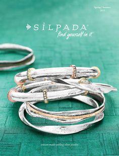 The NEW Silpada Designs Spring/Summer 2013 Catalog has arrived!!! www.mysilpada.com/joy.montana