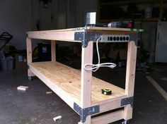 How-to-build a heavy duty work bench.