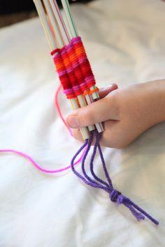 Perspective: Weaving/Knitting for Kids