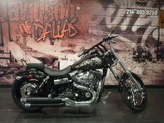 Custom Dyna Wide Glide FXDWG! Want one just like it? Call Chris! 214-495-0259! #Harley #HarleyDavidson #motorcycle #WideGlide #custom #Dyna
