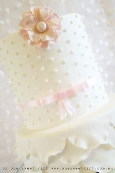 beautiful cake for a shower