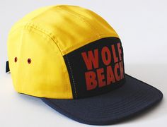 "RAISED BY WOLVES ""Wolf Beach"" Strapback Cap"