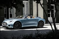 Future thinking meets timeless tradition. This is MINI Superleggera™ Vision.