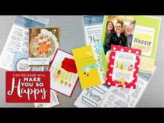 Happy Craft Products | Inspiration Video from TechniqueTuesday.com.