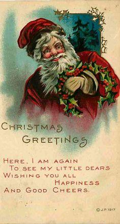 Vintage Santa Cheer