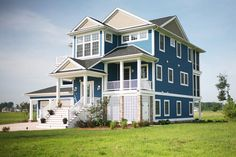 Sherwin Williams 6517 Regatta custom homes, new homes, bays, blue houses, bay iv, delaware, photo galleries, marina bay