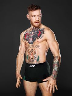 Conor McGregor - A night with the MMA bad boy who knocked José Aldo out in 13 seconds Connor Mcgregor, Conor Mcgregor Tattoo, Conor Mcgregor Style, Poses, Ufc Workout, Notorious Conor Mcgregor, Estilo Real, Ufc Fighters, Fitness Man