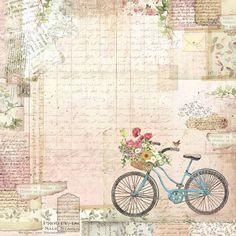 Papel Vintage, Decoupage Vintage, Vintage Cards, Vintage Paper, Vintage Images, Printable Scrapbook Paper, Printable Paper, Photo Backgrounds, Wallpaper Backgrounds