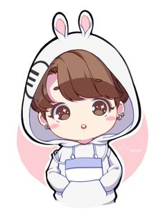 AHHH ADORABLE JUNGKOOKIE XDDD Kookie bunnie let me cuddle you forever ❤