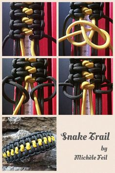 Tutorials by Michèle Feil | Swiss Paracord