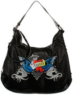 Tattoo hobo bag