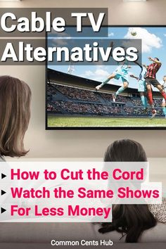 When you cut the cord to cable TV, you're saying no to bloated prices and never-ending rental charges. Ways To Save Money, Money Saving Tips, How To Make Money, Money Tips, Tv Hacks, Netflix Hacks, Tv Without Cable, Cable Tv Alternatives, Tv Options