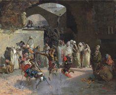 Arab Fantasia, de Mariano Fortuny, realizado y firmado en Roma en 1866, se vendió en Christie's por 583.250 libras (680.070 euros)