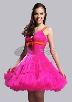 Short Prom Dresses / A-line Straps Sweetheart Short/ Mini  Short Prom Dresses / http://www.thdress.com/A-line-Straps-Sweetheart-Short-Mini-Short-Prom-Dresses-p859.html