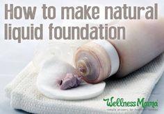 Natural Liquid Foundation Recipe