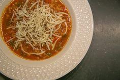 Crockpot Stuffed Pepper Soup - Hello Gorgeous by Angela Lanter