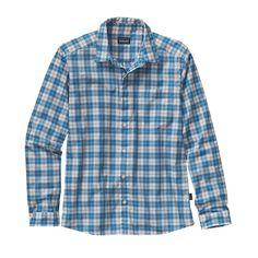 Patagonia Men\'s Long-Sleeved Fezzman Shirt - Pfeiffer: Catalyst Blue PFCT