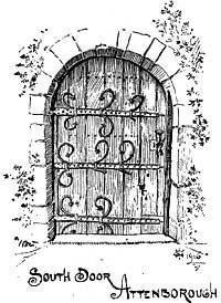 south chancel doorways, Architecture Sketch Book Designs