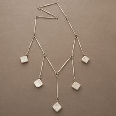Gallery 925 - Georg Jensen Necklace by Astrid Fog, No. 123. Handmade Sterling Silver.