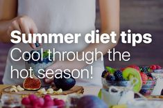 During the hottest months of the year we can support our body to stay cool. With the following diet tips for summer you are additionally doing something good for your summer body 🙂  #summer #freshfruits #fruits #summertime #hotsummer #foodlove #freshfood #stepsapp #10ksteps Summer Diet, Summer Body, Months In A Year, Our Body, Diet Tips, Something To Do, Summertime, Walking, Healthy Recipes