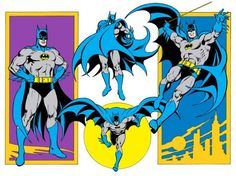 The entire 1982 #DCComics Style Guide is online and amazing | #Batman