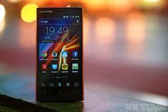 Sharp Aquos Phone 104SH review  http://vrge.co/KeP7BD