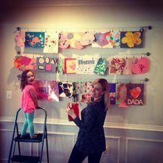 Hang kids artwork and photos