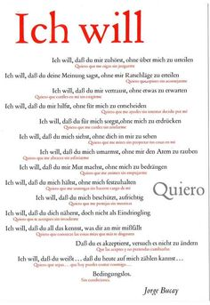 Ich will / Quiero. Words Quotes, Love Quotes, Sayings, Strong Quotes, Change Quotes, Quotes Quotes, German Grammar, German Language Learning, Something To Remember