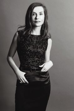 Isabelle Huppert | by Matias Indjic