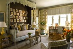 This is the most sophisticated nursery I have every seen, great space!