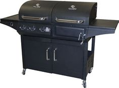 Char-Broil - Combo Charcoal/Gas Grill - Black, 463724514