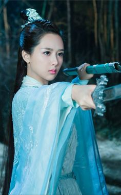 Andy Yang Zi 杨紫 [2016] Noble Aspirations/Qing Yun Zhi 《诛仙青云志》 Chinese Clothing, Chinese Actress, Drama Movies, Pretty Face, Asian Girl, Cosplay, Actresses, Costumes, Clothes