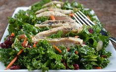 The summer salad that will make you love kale | Click For Recipe