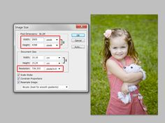 Cropping and Resolution - what dpi when and why