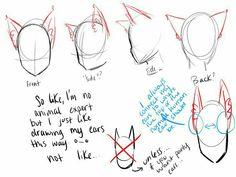 Cat, ears, neko, text; How to Draw Manga/Anime