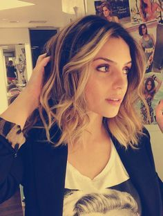 hairstyles for long bobs: curl your bob, it looks amazing